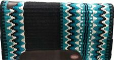 TEAL Western 24 x 24 Wool Cutter Horse Saddle Pad Blanket Fleece 6223