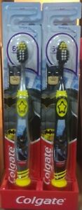 Colgate Batman Kids Toothbrush With Tongue Cleaner  6+ Years Soft Toothbrush