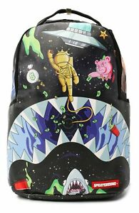 Sprayground Astro Party Backpack Black Bag Shark In Paris World 910B3061NSZ