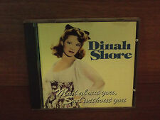 Dinah Shore : Mad About You,Sad Without You : CD Album : HQ CD 43