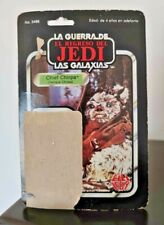 Star Wars Vintage Lili Ledy Chief Chirpa 30 Back Cardback Mexico