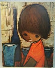 Jaklien Moerman Small Child Print on Wooden Board 20.5x25x1cm - 8.5x10x0.5""