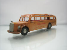 Brekina Mercedes 5000 Touring Bus Reise Liebling Brown 1/87 Scale Good Condition