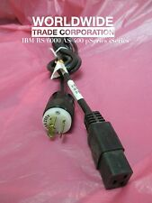 IBM 12J5119 Power Cord 240V 12A (Upper) Locking C19 TO NEMA L6-15P 2.8m / 9-ft