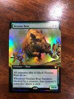 4x Nessian BoarFOILTheros Beyond DeathMTG Magic Cards