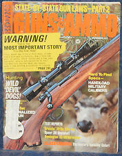 Magazine GUNS & AMMO December 1971 !!! REMINGTON M-700 Varmint RIFLE !!!