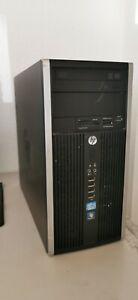 HP COMPAQ Pro 6300 Microtower Intel Core i5-2400 8 GB RAM Windows 10