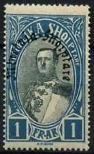 Albania 1928 SG#255, 1f Black And Blue MH #D60947