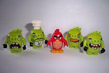 Lego Angry Birds, Figur, Figuren, 5 Stück, Red, Schwein, 75826, 75822, 75824**
