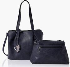 ENVY Shoulder Bag Inner Bag  Detachable Strap Medium Navy BRAND NEW Tag