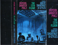 Invisibl Skratch Piklz ‎- The 13th Floor Cassette Tape Q-Bert Shortkut DJ Battle