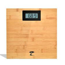 ToiletTree Products Digital Bamboo Bathroom Scale, 400 Lbs Capacity