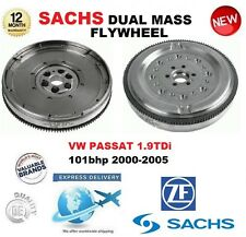 FOR VW PASSAT 1.9 TDi 101bhp 2000-2005 SACHS DMF DUAL MASS FLYWHEEL & BOLTS