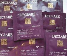 Declare 30ml of Night Essential Serum 3ml sample sachets x 10