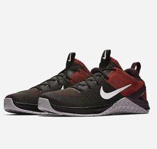 Nike Metcon DSX Flyknit 2 Mens SZ 11 Cross Training Black/ Red/Grey 924423-002