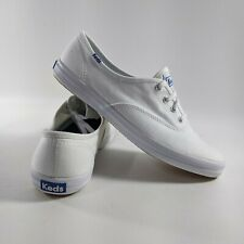 New Keds Champion Shoes White Canvas Womens Dream Foam Sneakers NWOB