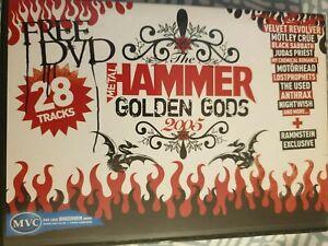 METAL HAMMER DVD - GOLDEN GODS PROMO. BLACK SABBATH,  MOTLEY CRUE, MOTORHEAD