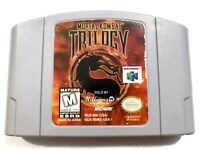 Mortal Kombat Trilogy - Nintendo 64 N64 Game Tested + Working & Authentic!