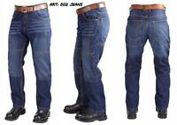 Motorbike Motorcycle Denim Men's Trousers Jeans with Aramid Protective Lining