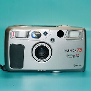 [FILM TESTED] Yashica T5 Silver W/ Carl Zeiss T* Tessar 35mm f/3.5 Lens! Lomo!
