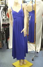 Joseph Ribkoff BNWT 10 sensacional vestido de longitud completa con tiras azul eléctrico 8 EE. UU.