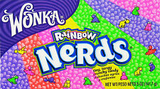 Wonka Rainbow Nerds - American Sweets - 141.7g