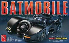 AMT 1:25 1989 Batmobile Plastic Model Kit AMT935