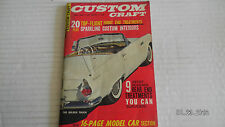 1962 MAY...CUSTOMS CRAFT. MAGAZINE..20 TOP FLIGHT FRONT END TREATMENTS
