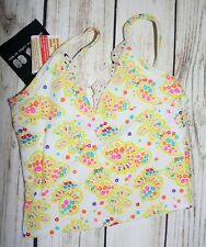 Cotton on Kids Girls Colourful Floral Swimwear Top Size Small BNWT #GIRL2