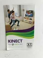 Kinect Xbox 360 Manual Insert Replacement ONLY