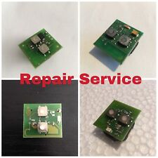 REPAIR SERVICE - VAUXHALL REMOTE KEY FOB CIRCUIT BOARD ASTRA G ZAFIRA 2 BUTTON
