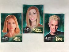 PROMO CARD SET: BUFFY THE VAMPIRE SLAYER 6 Inkworks CHAOS BLEEDS GAME VU1-VU3