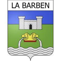 La Barben 13 ville Stickers blason autocollant adhésif