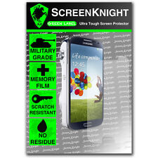 ScreenKnight Samsung Galaxy S4 Zoom FRONT SCREEN PROTECTOR invisible shield