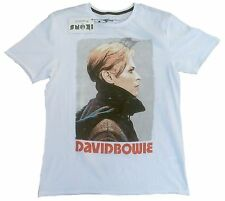 Amplified Official david bowie Cool estrella de rock vintage Cult VIP t-shirt G.M 48
