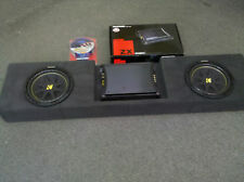2009 to 2014 Supercrew Custom Box Enclosure Subwoofer Sub 2 10 Amp Rack Wiring