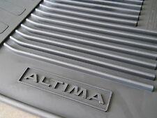 Genuine Nissan Altima Sedan 2013-2016 Charcoal All Season Rubber Floor Mats 4 pc