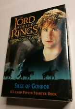 LOTR TCG  Siege of Gondor Pippen Starter Deck Box Sealed  Lord of the Rings