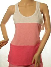 Jenni by Jennifer Moore Women's Pink Color-block Tank Top Size XL