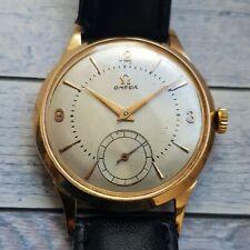 Vintage Omega 18ct Solid Gold Men's Watch Cal 267