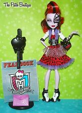 MONSTER HIGH VHTF OPERETTA PICTURE DAY DOLL W/ OUTFIT SHOES & VARIANT WEB MASK