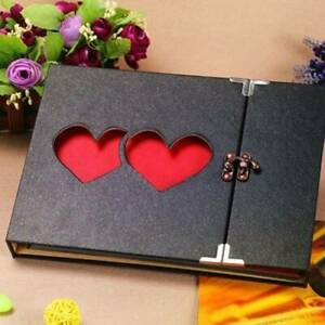 31 page Photo Album Leather DIY Scrapbook Gifts Vintage Albums Travel Holiday UK