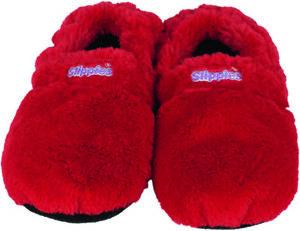 Slippies deluxe rot, Größe M, Warmies Neu, Wärme und Kältetherapie