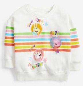 Next Peppa Pig Sweater / Jumper NEW