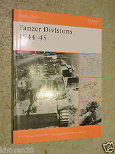 Battle orders  Panzer Divisions 1944 -45 Pier Paolo Battistelli Osprey
