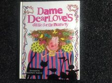 DAME DEARLOVE'S DITTIES FOR THE NURSERY, RODNEY McRAE Hardcover vintage children