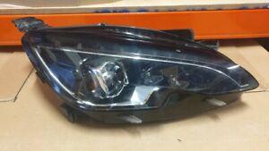 Peugeot 308 UK Spec RHD Headlamp Headlight FULL LED Right 98005463 Bare Unit OEM