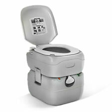 Weisshorn 22L Portable Camping Toilet - Grey