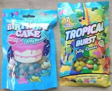 Tropical Burst Fruit / Birthday Cake Special Edition Jelly Beans - 180g/200g Bag