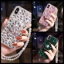 Bling Diamond Rhinestone Holder Stand Case for Samsung S20 Note10 9 8 S10 S9 S8